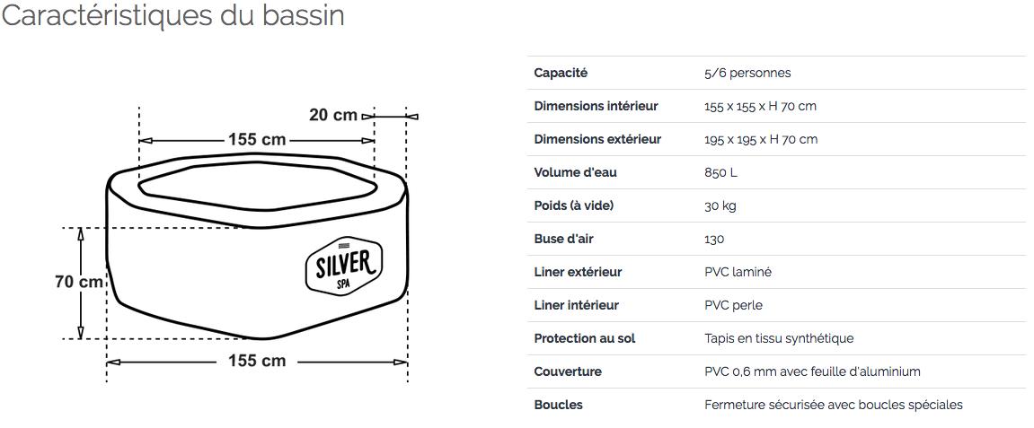 Silver rover bassin